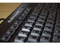 Alienware multimedia keyboard