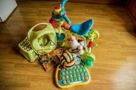 Toys bundle plus potty training accessories