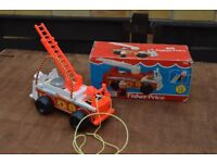 Fisher Price Vintage Fire Engine