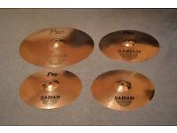Sabian Cymbal Pack - Hi-Hats, Ride + Crash