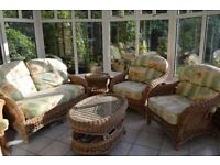 Conservatory Furniture Suite including 2 tables
