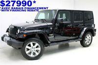 2013 Jeep WRANGLER UNLIMITED Sahara Unlimited * Bluetooth * Extr