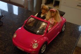 BARBIE CAR with Barbie and Ken