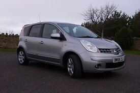 Nissan Note 2008 Automatic 1.6L **low mileage**