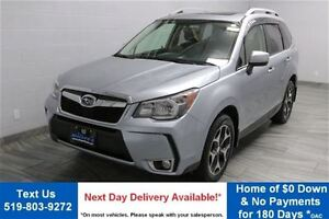 2014 Subaru Forester 2.0XT TOURING w/ LEATHER! PANORAMIC ROOF! R