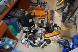 Triumph Herald 1200 engine