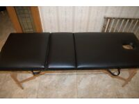 Massage folding table for sale in excellent like new condition