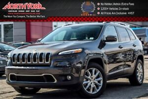 2016 Jeep Cherokee Limited|4x4|LuxuryPkg|Pano_Sunroof|Nav|Heated