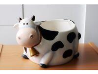 COW FRUIT/ SALAD BOWL – KITCHEN, SERVING, GIFT, SUPERB QUALITY