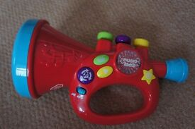 Chad Valley my first trumpet musical toy