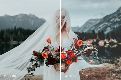 100 High Quality Luxury Film Wedding Lightroom Presets (Email Delivery) for sale  Shipping to Nigeria