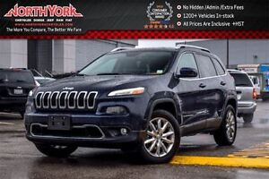 2016 Jeep Cherokee Limited 4x4|Nav|Leather|R.Start|HTD Frnt Seat