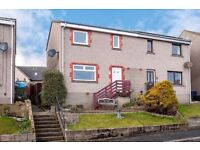 House for sale 3 bedroom semi detached. Sea views close to Aberdeen/Montrose.
