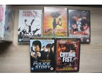 DVDs - New Police Story, Crying Fist, Shaolin Soccer, etc.
