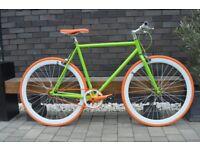 Brand new TEMAN single speed fixed gear fixie bike/ road bike/ bicycles + 1year warranty wwwp