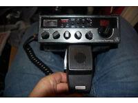 president kp 77 homebase cb radio and harrier cbx.