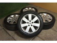 """Genuine FORD 16"""" MP3 Alloy wheels 5x108 Mondeo Focus MK2 Transit Connect Alloys"""