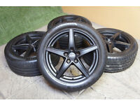 """Genuine Alutec Raptr 17"""" Alloy wheels 5x112 VW Passat Golf Caddy Eos Audi A3 A4 Alloys"""