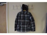 Oneill Pwes Summit Jacket Black Aop M