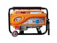 Power Generator KRAFTWELE 4500 1Phase 4,5 Kva