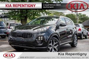 2017 Kia Sportage SX Turbo w/Black*NAV*TOIT OUVRANT*