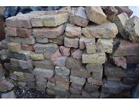 reclaimed London bricks