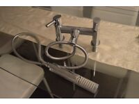 Bath tap with shower
