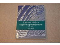 Advanced Modern Engineering Mathematics by Glynn James. 4th Edition. SOLD ( see my other books )
