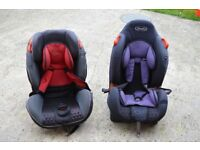 TWO BABY/CHILD CAR SEATS IN EXCELLENT CONDITION