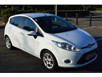 2012 (62) ford fiesta 12.5 cc petrol zetec 5 door 2 owner well kept and serviced , 66069 miles on