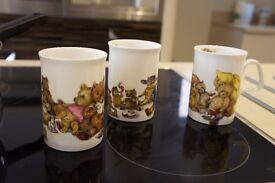 Mugs fine bone china Fairy tale x3