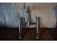 Chrome Bath Mixer Tap Previously used but in good condition 3/4 inch connection