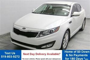 2012 Kia Optima EX w/ LEATHER! REVERSE CAMERA! HEATED SEATS! ALL