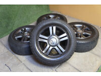 """Genuine VW Transporter T5 16"""" Alloy wheels 5x120 T5.1 Load Rated Van Bus"""
