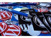 Wordpress webmaster (website manager) £4/day