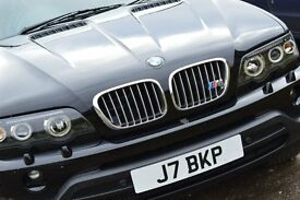 BMW X5 sport auto petrol black great condition with loads of extras
