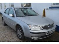 Ford MONDEO 2005 In excellent condition with MOT until OCTOBER 2017