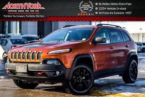 2016 Jeep Cherokee Trailhawk|4x4|SafetyTec,Cold Wthr,Comfort Pkg