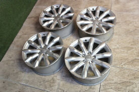 "Genuine Audi A4 8K B8 Allroad 18"" Alloy wheels 5x112 VW Seat Skoda Alloys"