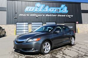 2013 Acura ILX LEATHER TRIM! NAVIGATION! SUNROOF! NEW BRAKES! HE