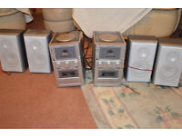 TWO CD MICRO SYSTEM FOR SALE