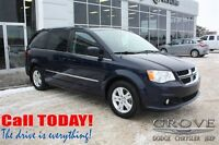 2013 Dodge Grand Caravan Crew w/ Power Doors, Cloth Seats, Back-