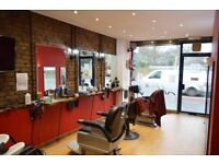LONG ESTABLISHED MENS HAIRDRESSER BUSINESS FOR SALE IN BUSY LOCATION