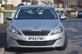 peugeot 308 1.6 hdi active low miles