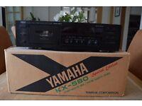 YAMAHA KX580SE CASSETTE DECK - £50.00 ONO