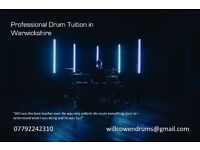 Professional, Affordable Drum Tuition