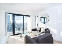 ** Luxury Brand New 1 bed apartment, Balcony, River view, Gym+concierge, Canary Wharf, E14 - AW