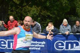 Take part in the Edinburgh Marathon Festival with Age Scotland