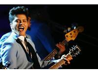 Bruno Mars Tickets - FRONT STANDING - London o2 Arena - 21st April