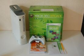 Boxed White Xbox 360 - Very Good Condition